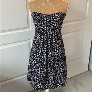 White House Black Market strapless dress!